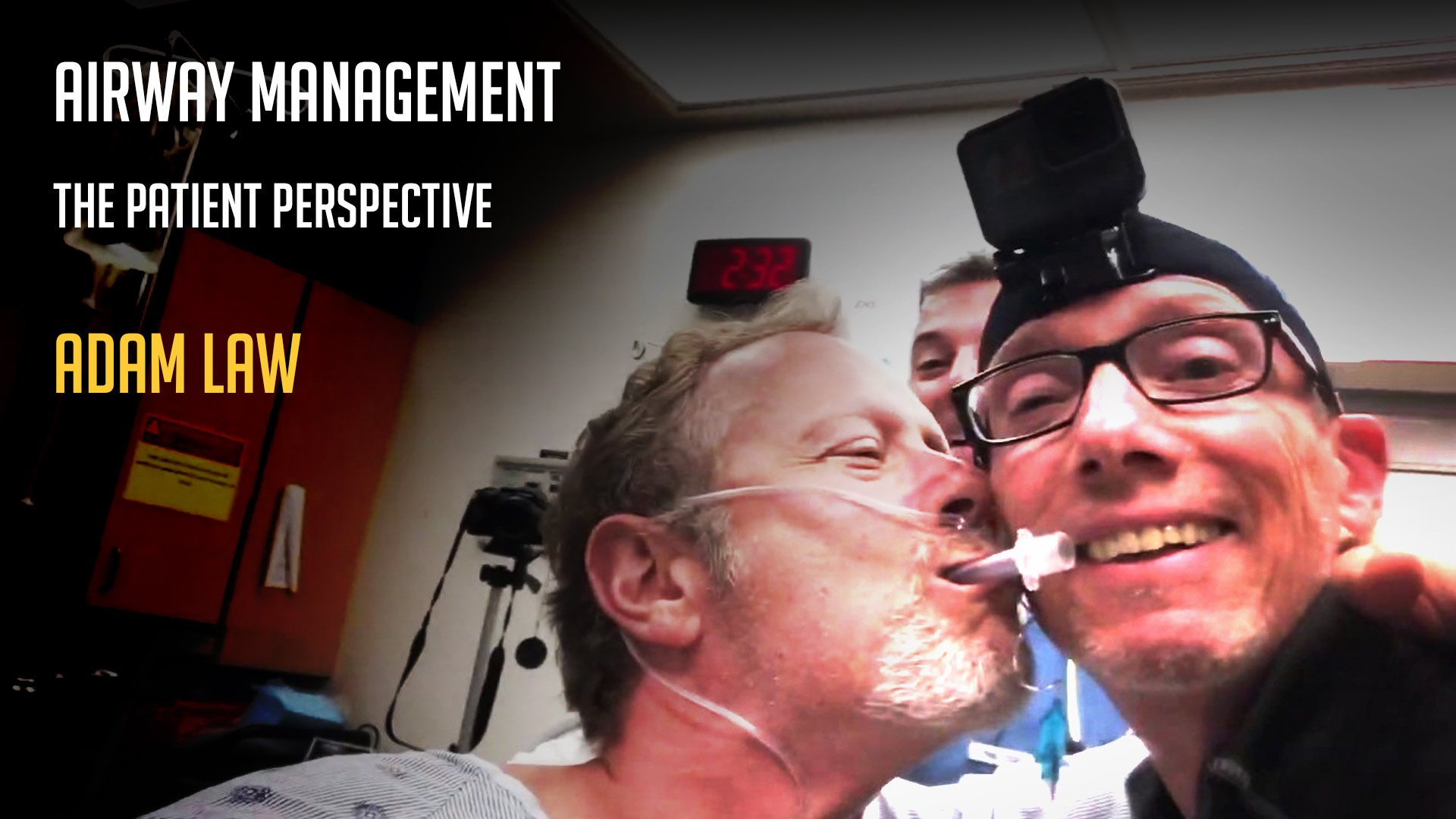 Airway management from the patient perspective | Adam Law | SSAI2019